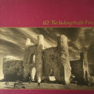 U2 - The Unforgettable Fire (LP) (G+/VG)